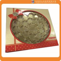2015 Alibaba hot sale custom clear plastic food packaging box design