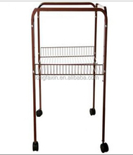 Metal Alfy Bird Cage Stand on Wheels