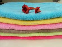 Cheap Dry Microfiber Dog Bath Towel / Pet Dog blanket & throws