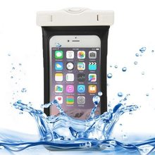 Nice design Touch Responsive Front and Lanyard Universal IPX8 waterproof case for iPhone 6