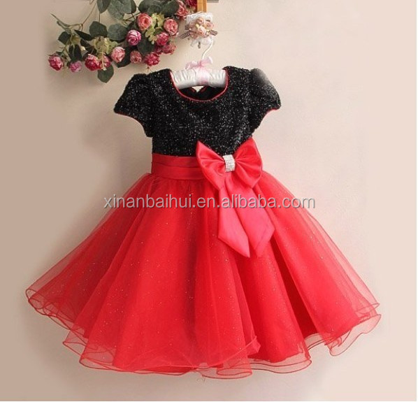 Christmas party dress fancy girls party dresses kids clothes product