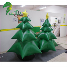 2M tall inflatable Christmas tree putting on outside display