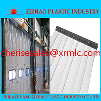 ZIZHAO pvc flexible plastic sheet strip curtain A+Quality