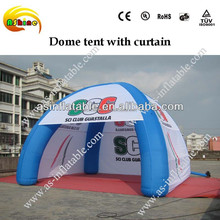 CE 8m advertising inflatable dome tent
