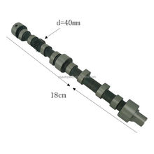 Low cost high quality racing camshaft for motorcycles