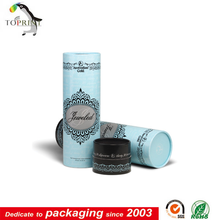 China custom paperboard cosmetic tube packaging supplier