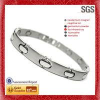 Philadelphia Eagles Logo engraved stainless steel pave mosaic bracelet