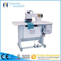 2015 hot sale ultrasonic sealing and sewing bag making machine ,CE appvoed