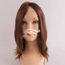 Certified Silk Top European Human Hair Jewish Wigs Kosher Wigs