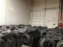 Baled scrap Tires