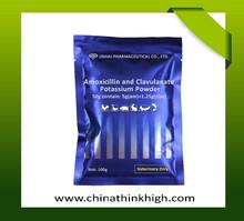 combination of amoxicillin clavulanic acidfor pig and swine piglet veterinary medicine manufacturer