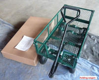 Mesh Structure and Metal Material cart wagon
