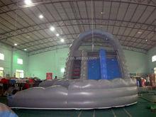 aqua water slides , LZ-B3238 inflatable pool for water slide
