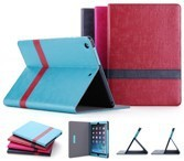 Multi-angle standing PU leather case for ipad air 2