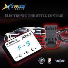 5-drive throttle controller electronic boost controller to improve car throttle sensitivity and speed for toyota, honda