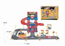 Children Car Parking Lot Toys,B/O Railway Toys, Shantou Toys