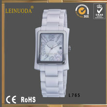 Square face black crystal watch fashion dom watches china watch factory