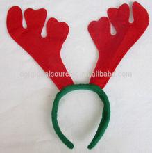 hebilla de la cabeza del partido abatis sombrero de navidad buckhorn tocado de cuernos de disfraces