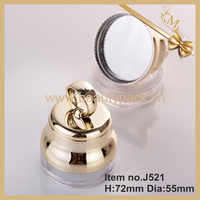 loose powder jar for BB cushion with mirror