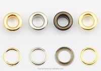 wholesale belt metal eyelets, brass eyelet for garment, eyelets for canvas