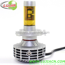 New Arrival ! 6000LM led all-in-one LED car headlights 6G H4 H7 H8 H11 H13 H16 led headlights XHP50 LED PHILIP-S auto headlight