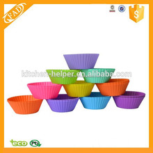 Heat resistant new style silicone cupcake tray