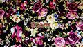 tropicales floral de impresión de nylon del spandex tela de trajes de baño 4 tramo de camino de poliamida elastán