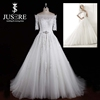 New Short Sleeves Off Shoulder Appliqued Aline Real Pictures Aliexpress Wedding Dresses Made In China