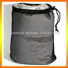 Custom High quality mesh bags with drawstring