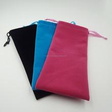 Premium Custom Microfiber Velvet Sunglasses Bag