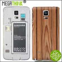 Note 4 replacement Battery Cover back housing Bamboo Wooden Pattern Custom Case for Samsung Note 4 - Print Your Design