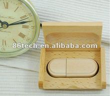 Best promotion gift 4GB 8GB 16GB wooden usb disk 2.0