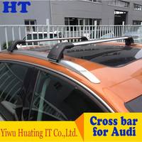 wholesale removable horizontal car roof luggage rack for Audi Q3
