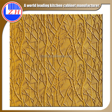 Waterproof 3d embossed wall panel for meeting room wall decoration