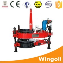 API casing and tubing hydrostatic test machine designed for hydraulic rotary drilling rig