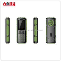 New hot 1.77inch mini dual sim feature phone with 1800mah power bank