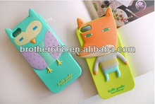 Promotional silicone 3d phone case/high quality silicone phone case/brand silicone phone case