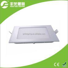 hot selling ultra thin square led panel light 15w office decorate