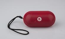 Pill Mini Pill Speaker Spills Wireless Bluetooth Loud Speakers Car Handsfree with LED Light FM TF Card DHL H