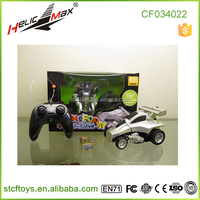 Cheapest price!Smaller size Battery operate RC stunt rolling car wireless remote toy car small wheel robot car