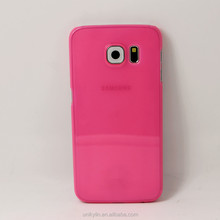 Factory direct Protective Plastic Hard ,high clear and transparent case for samsung galaxy s6