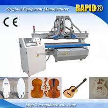 CE certificate Lathe bed 1325 musical instrument making guitar machine