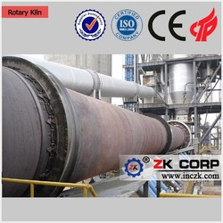 High quality small rotary kiln for cement plants