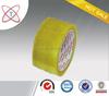 strongth adheisve packaging yellowish BOPP tape/bopp box packing tape