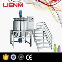 Shampoo Blending Plant Liquid Detergent Mixing Machine