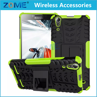 Alibaba Website Protective Plastic Hard Case Rugged Combo Case For Lenovo A6000 A6000 Plus
