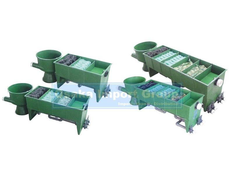 Chamber multi segments vortex frp koi pond filter for Multi chamber filter systems for ponds