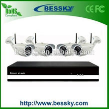 Bessky 2015 parking sensor system with wifi outdoor bullet camera