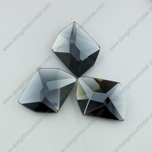 China crystal decorative glass stones for wedding dress accessories