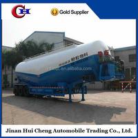 Hot selling Jinan Dry bulk cement tansport tanker semi trailer